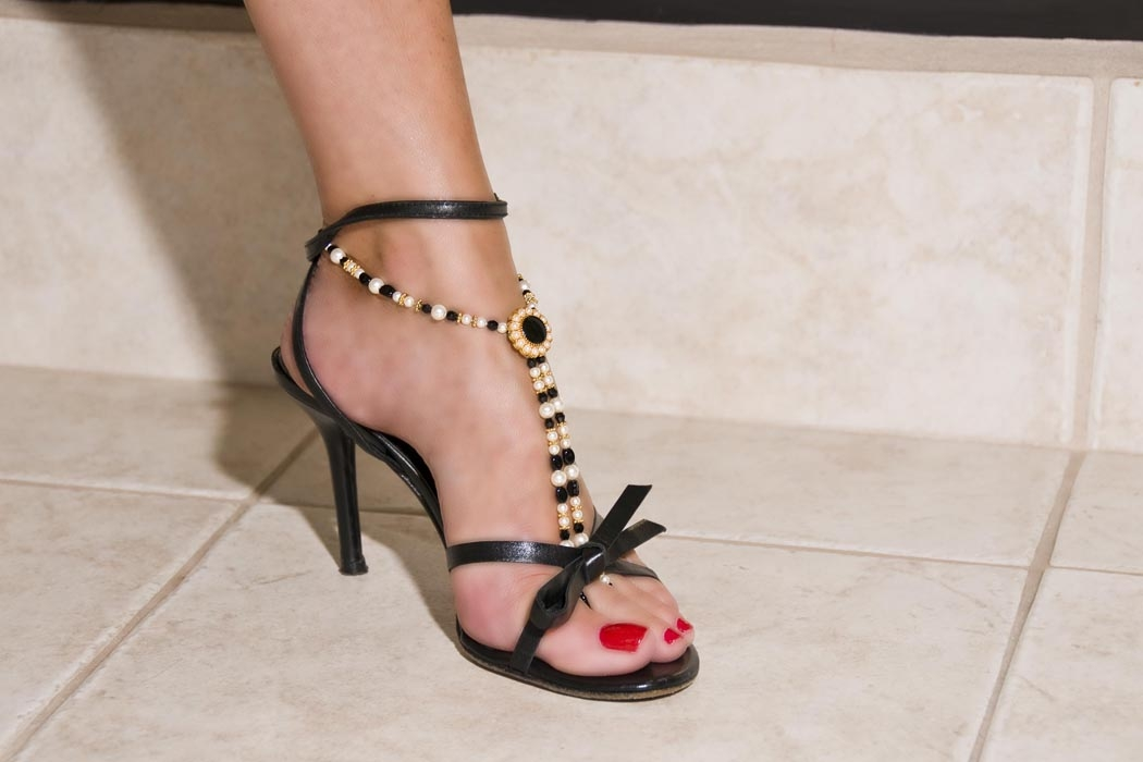 Elegant-Evening-with-strappy-sandal