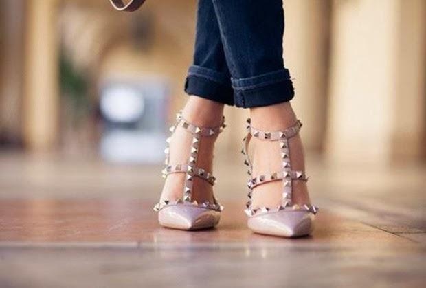 sapatosrockstudrosa
